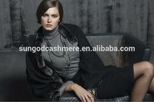 luxury cashmere knitted shawl