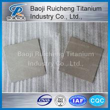 supply platinum titanium electrode plate