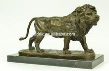 Wholesale Bronze Statues Bronze Wildlife Sculpture African Lion VLA-BS1010