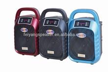 good sound plastic low price bluetooth speaker bluetooth self powered speaker with usb,sd,fm,belt(F63)