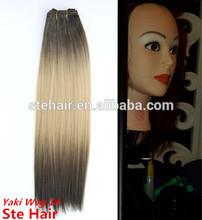 Stefull hair fashion good quality japanese fiber synthetic hair bulk