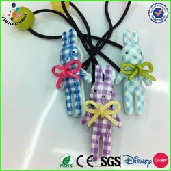 2014 Girl acrylic rabbit bowknot headband Baby plastic hair band
