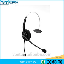 professional headset call center with hi-fi audio