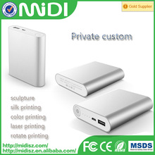 for XIAOMI mobile power bank multi-colored 10400mah