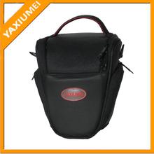 Special design cute triangle camera bag promotion