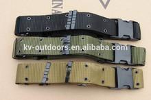 5.5cm Width U.S. Commando High Duty Military Combat Army Waist Canvas Belt Custom Tactical Belts for Men