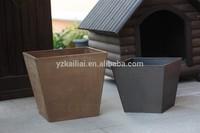 Hot sales New material garden planter growing pots decorative plastic flower pots on sale