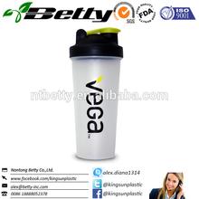 Hot sell BPA FREE blender bottle supplement custom shaker cup with ball