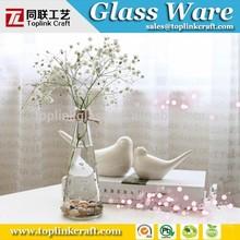 Brand Clear Knobby Glass Vase