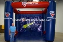 2014 baseball goal type inflatable batting cage,strong inflatable batting cage for sale