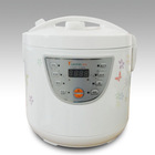 White multi electric rice cooker with CE/CCC/RoHS