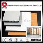 changzhou zhongtian new design decorative toilet partition