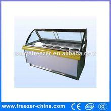 2 porta do freezer vertical , usado em Gelateria Sanye fabricação