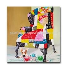 Handmade thick textured new animal painting