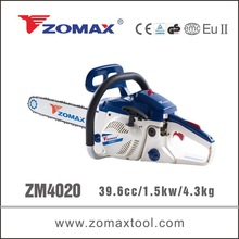 Garden tool 39.6cc ZM4020 small chainsaw, chainsaw brands, mini chainsaw