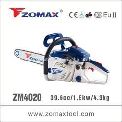 Garden tool 39.6cc ZM4020 small chainsaw, chainsaw brands, mini chainsaw