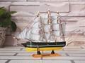 petit voilier de pêche en bois 20cm modèle pour la vente