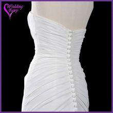 Cheap Prices!! OEM Factory Custom Design wedding dress organza ruffles skirt