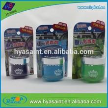 2.12oz / 60g good perfume glass gel car freshener for car