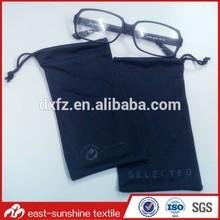 microfiber eyeglass case,fabric drawstring gift bag with custom logo,microfiber drawstring camera bag
