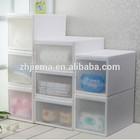 Clothes Organizer Transparent Plastic Storage Cabinet Drawer