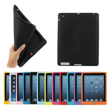 Home button Silicone case for iPad 4,for iPad silicone case