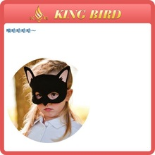 Child Size black fox felt mask