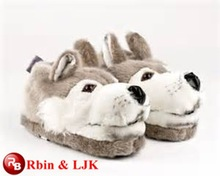 Meet EN71 and ASTM standard ICTI plush toy factory stuffed animal slippers