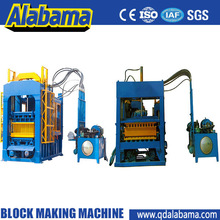 with high output high density interlock and block machine