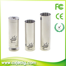 2014 Newest Mechanical Mod Battery Sailing Boat Caravela gift box Mech Mod Ecig Caravela Mod Ecig