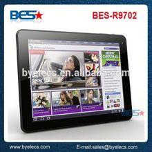 Wholesale 8Gmemory Rockchip3188 quad cpu retina 9.7 inch ips screen tablet