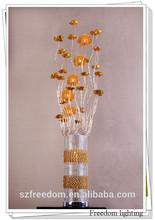 Hot sale modern G4 VDE/CE/UL chandelier table lamp aluminum table lamp