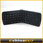 Hottest Black Silicone keyboard 66 keys Wireless keyboard Foldable Bluetooth computer keyboard For Android Tablet pc phone