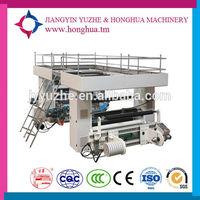 Lable slitting machine with rotary die cutting machine