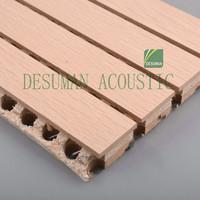 Melamine Veneer Textured Mdf Acoustic Panel Wood Mdf Boards