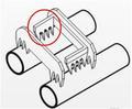 isolamento piercing conectores de chicote de fios