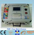 Totalmente automático- digital que aparecen, relación del transformador de analizador de, micro- controlador operado, panel frontal con la leyenda