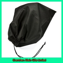 Top Sales in Europe Market Black Travel Nonwoven Shoe Bag