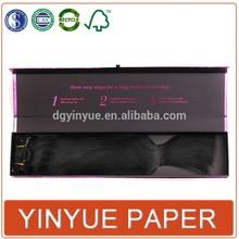 hair accessories box,hair extensions packaging paper box,hair weave box