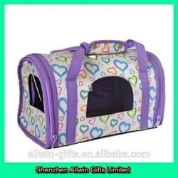Medium size custom deluxe pet carrier