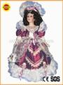 bem vestida fantasiados de boneca de porcelana cabeças e corpos no atacado