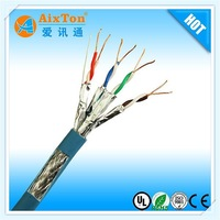 OEM high quality LSZH 4 pair SFTP shielded CAT7 network cable