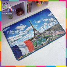 Paris bottom price stylish floor mat for office chair on carpet