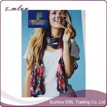 custom wholesale formal dress shawl multi color