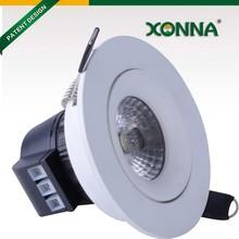 compact design internal driver led light mini spot, high PF>0.9