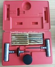 Car tire puncture repair tool kits