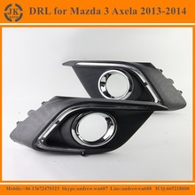 High Powe Super Bright LED DRL Fog Light Excellent Quality LED Daylight for Mazda 3 Axela 2013~14'