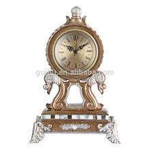 promotion gift home decor living room wholesale antique desk clock