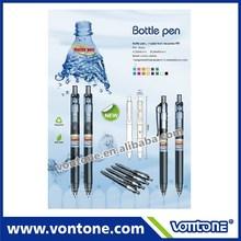2014 New model, recycled PET bottle ball point pen