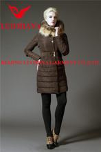 high quality ar men's down jacket in nylon-light pressure shell in hazel color